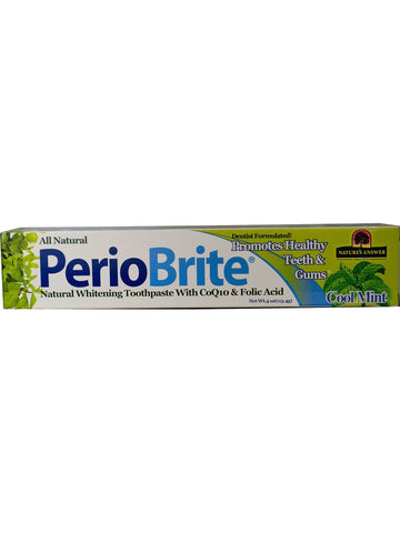 PerioBrite Toothpaste, 4 oz, Nature's Answer