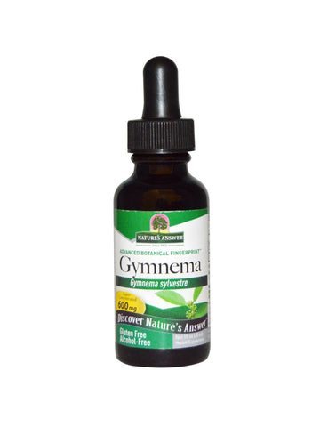 Gymnema Leaf Extract Alcohol Free, 1 oz, Nature's Answer