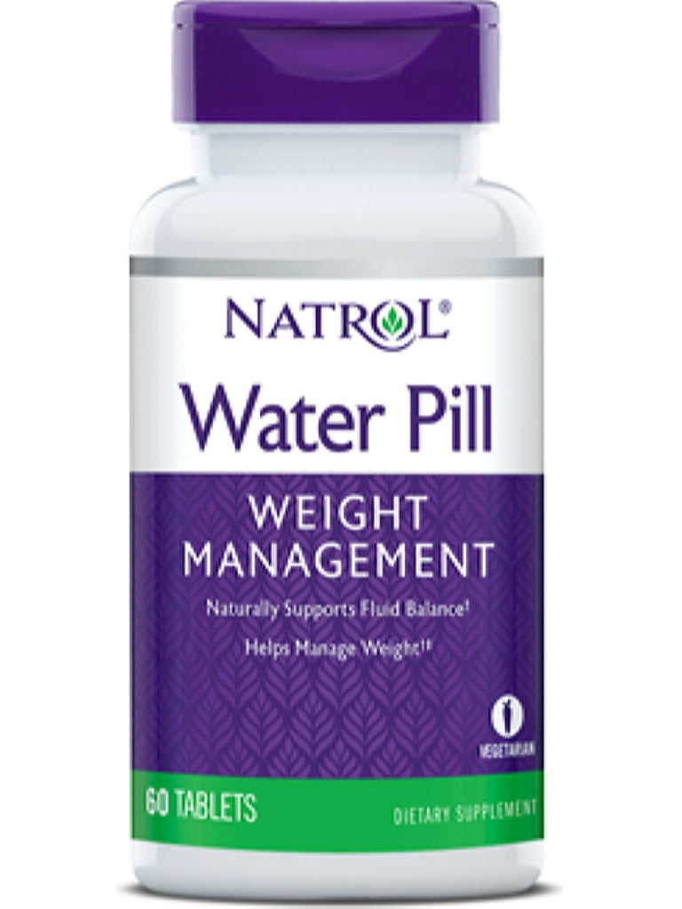 Natrol, WaterPill, 60 ct