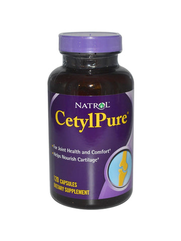 Natrol, Cetylpure (Cetyl Myristoleate Complex), 120 ct