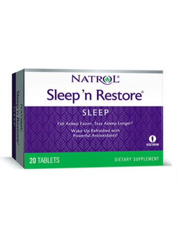 Natrol, Sleep N Restore, 20 ct