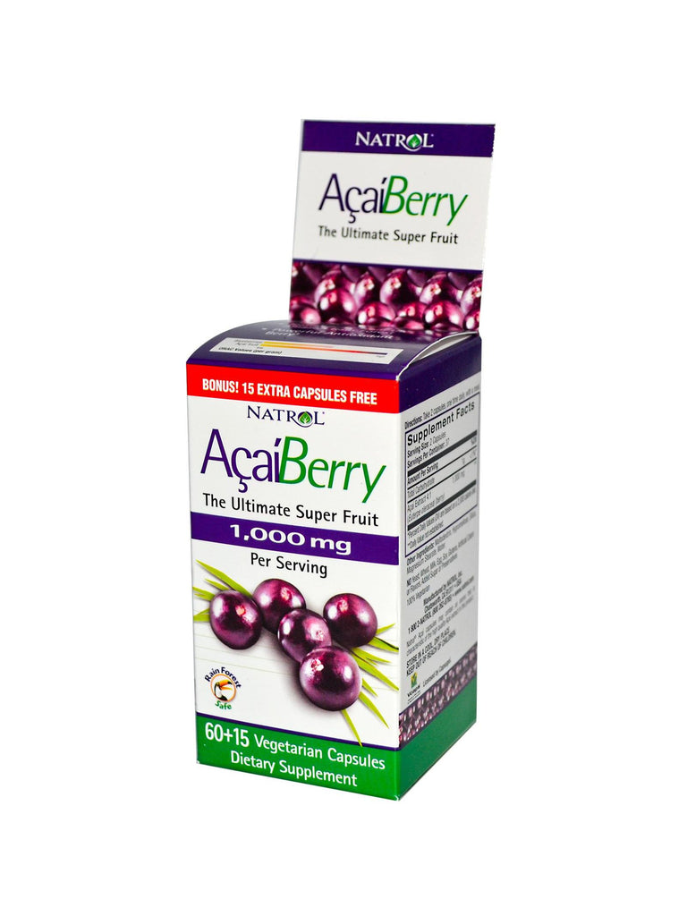 Natrol, Acai, 1000mg, 60 ct