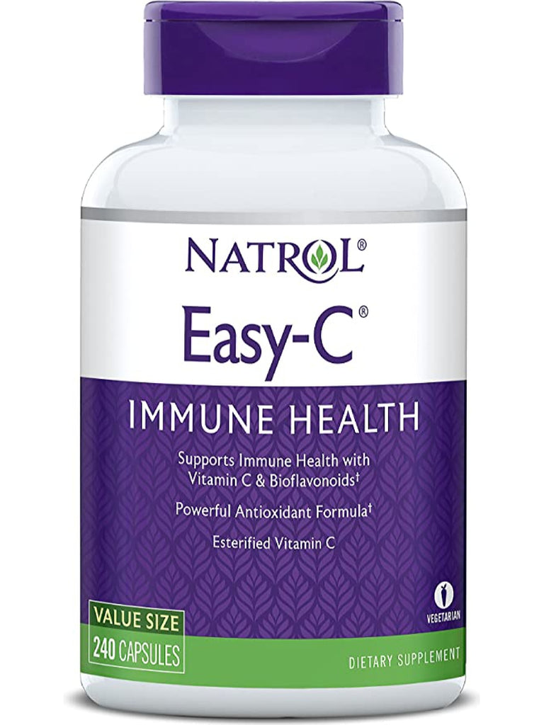 Natrol, Easy C, 500mg with Bios, 240 ct