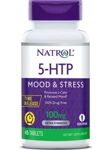 Natrol, 5-HTP, 100mg Time Release, 45 ct