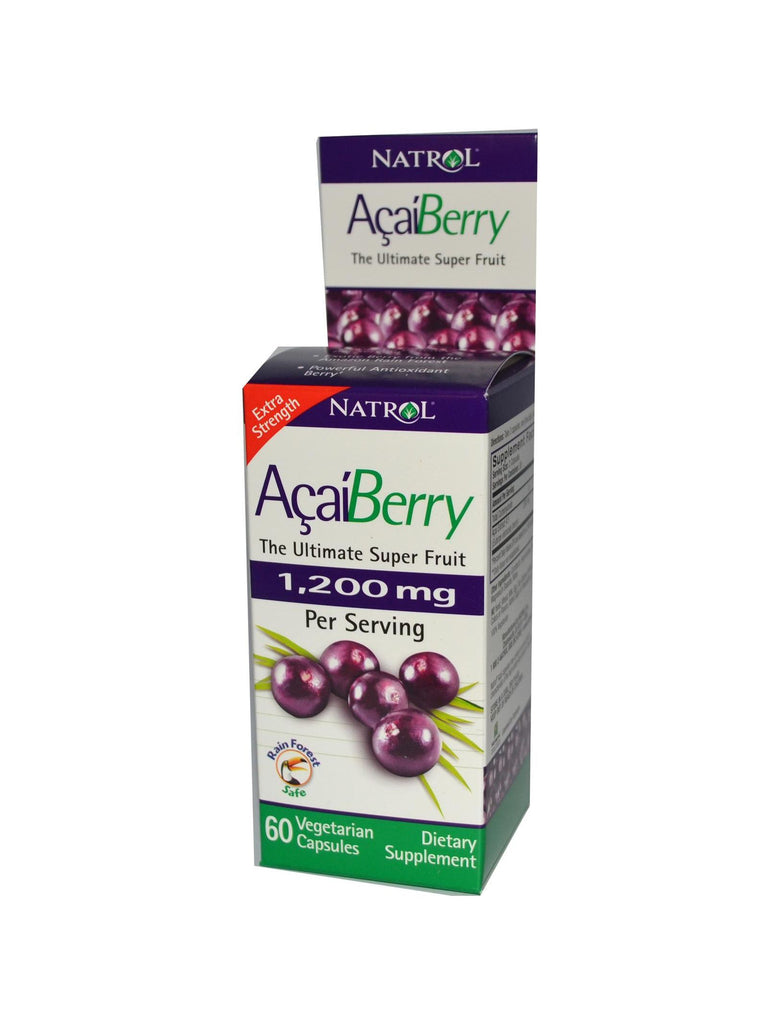 Natrol, AcaiBerry Extra Strength, 1200mg, 60 ct