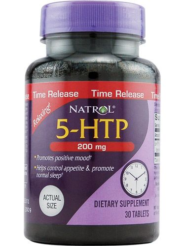 Natrol, 5-HTP, 200mg Time Release, 30 ct