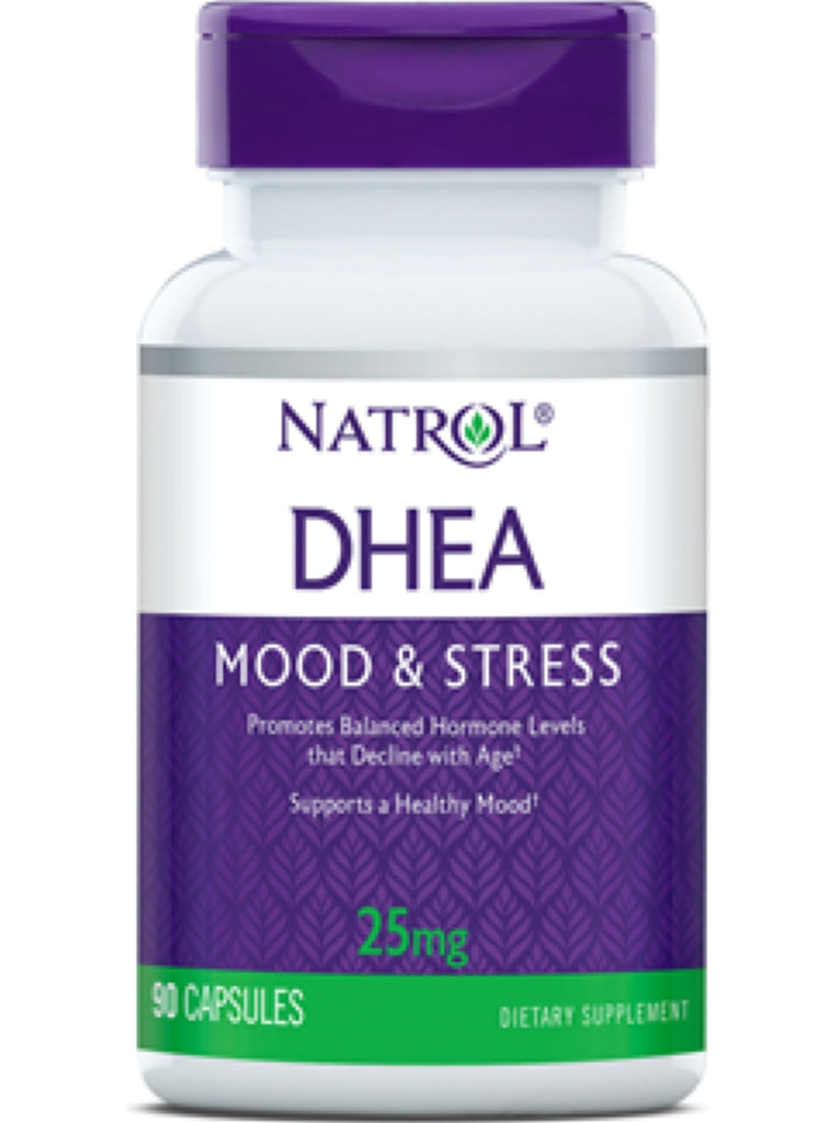 Natrol, DHEA, 25mg, 90 ct