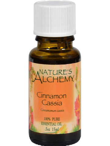 Nature's Alchemy, Cinnamon Essential Oil, 0.5 oz