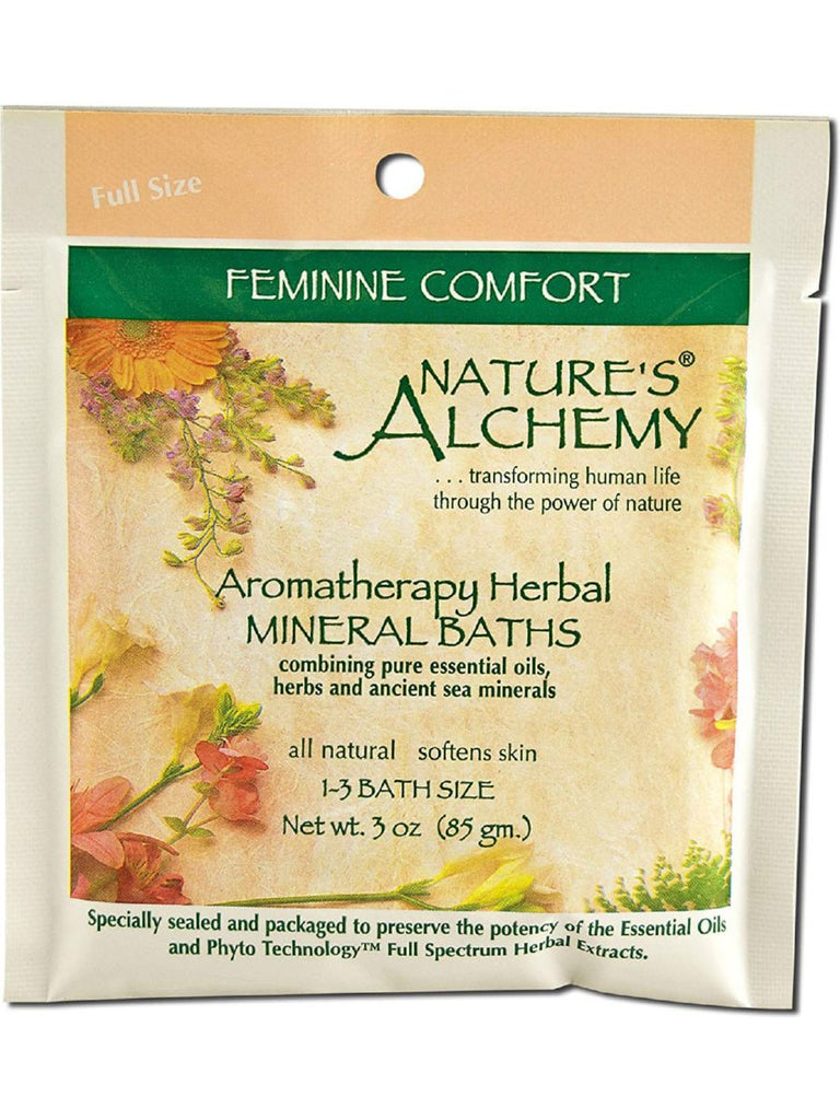 Nature's Alchemy, Feminine Comfort Aromatherapy Mineral Bath, 3 oz