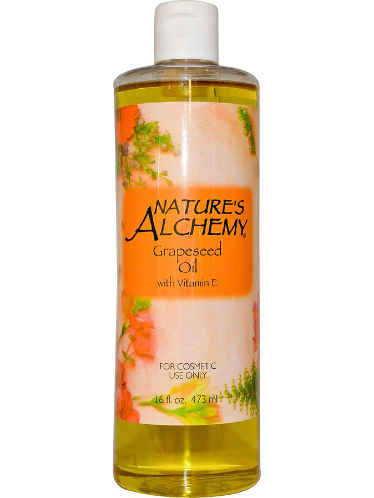 Nature's Alchemy, Grapeseed Carrier Oil, 16 oz