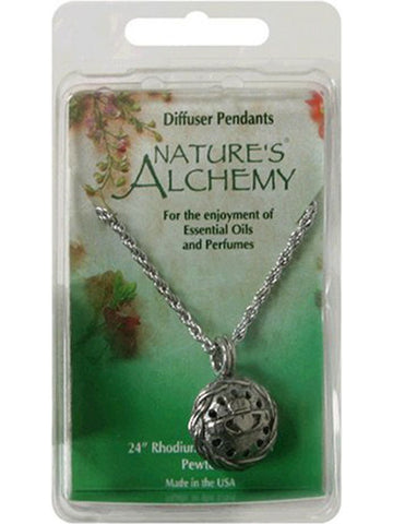 Nature's Alchemy, Oriental Dome Diffuser Necklace, 1 pc