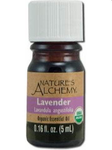 Nature's Alchemy, Lavender Organic Essential Oil, 5 ml