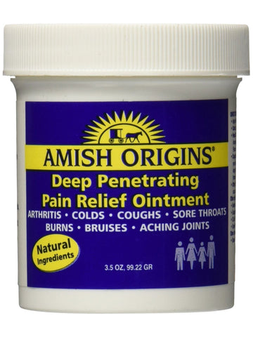 Amish Origins, Deep Penetrating Pain Relief Ointment, 3.5 oz