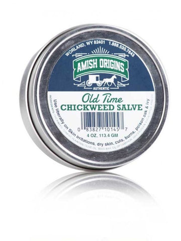 Amish Origins, Old Time Chickweed Salve, 4 oz