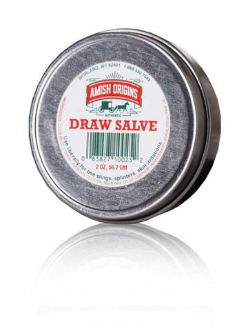 Amish Origins, Draw Salve, 2 oz