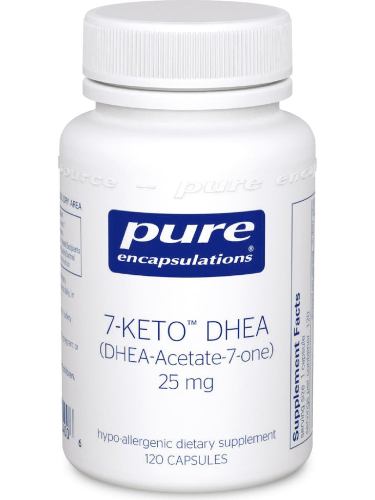 Pure Encapsulations, 7-Keto DHEA, 25 mg, 120 vcaps