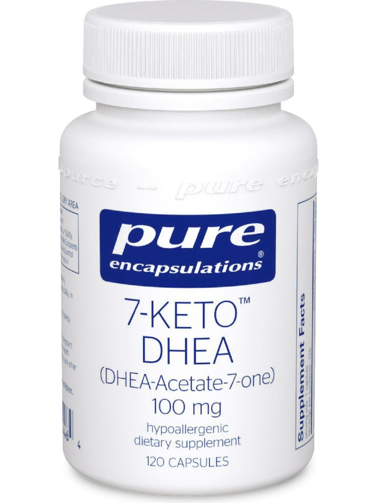 Pure Encapsulations, 7-Keto DHEA, 100 mg, 120 vcaps
