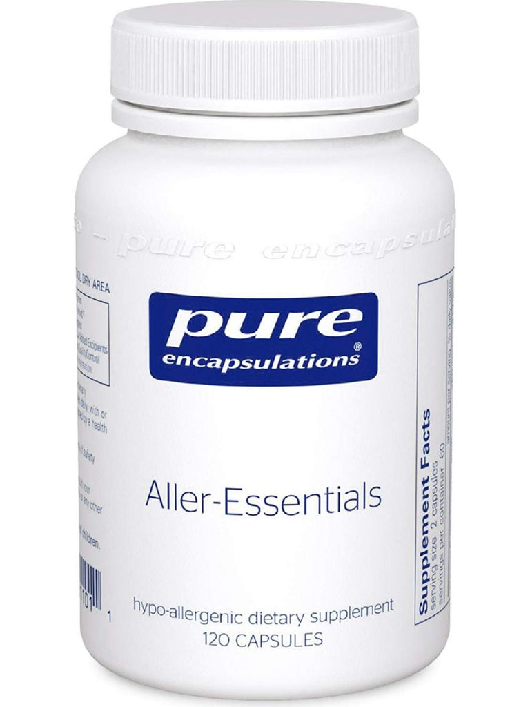 Pure Encapsulations, Aller-Essentials, 120 caps