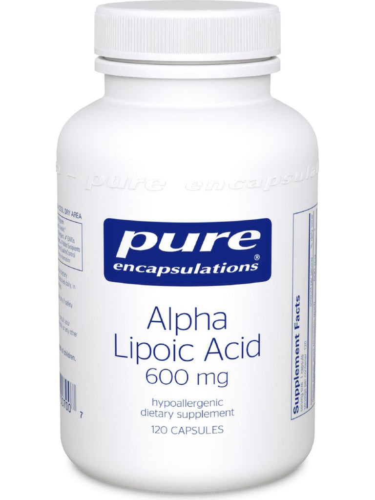 Pure Encapsulations, Alpha Lipoic Acid, 600 mg, 120 vcaps