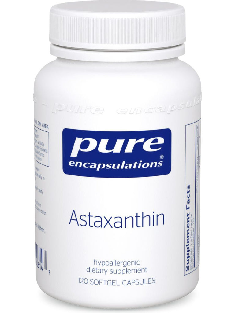 Pure Encapsulations, Astaxanthin, 120 gels