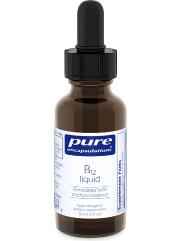 Pure Encapsulations, B12 Liquid, 30 ml