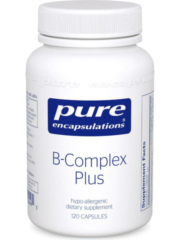 Pure Encapsulations, B-Complex Plus, 120 vcaps