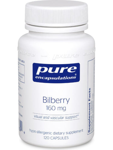 Pure Encapsulations, Bilberry, 160 mg, 120 vcaps