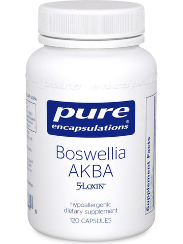 Pure Encapsulations, Boswellia AKBA, 120 caps