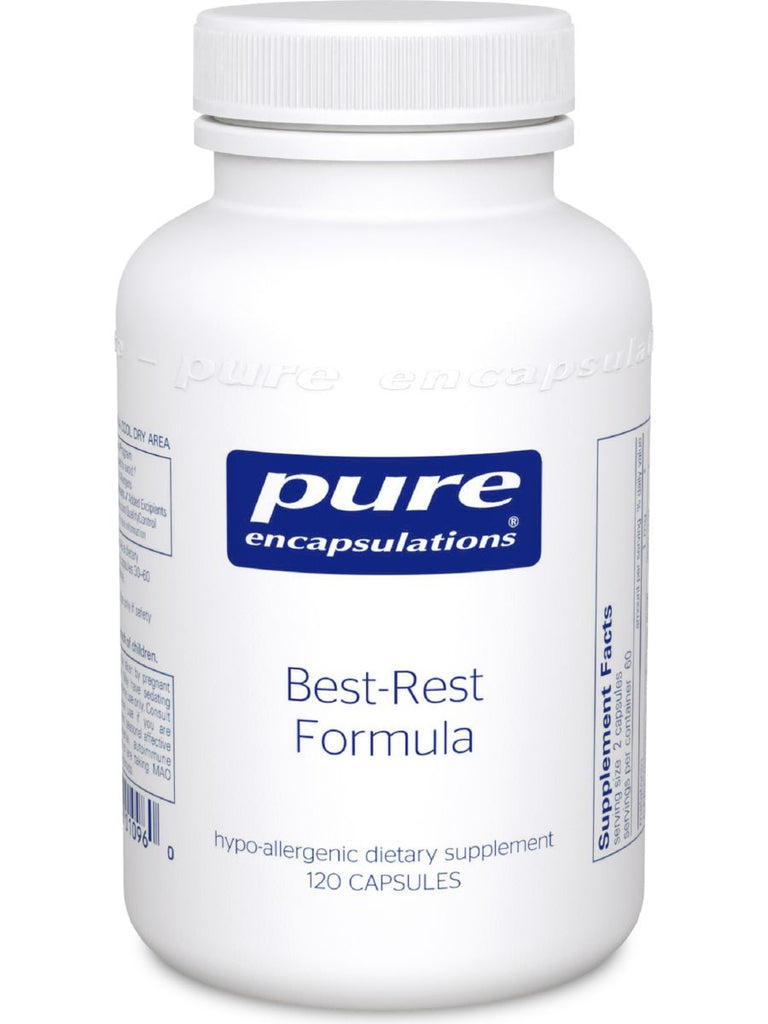 Pure Encapsulations, Best-Rest Formula, 120 caps