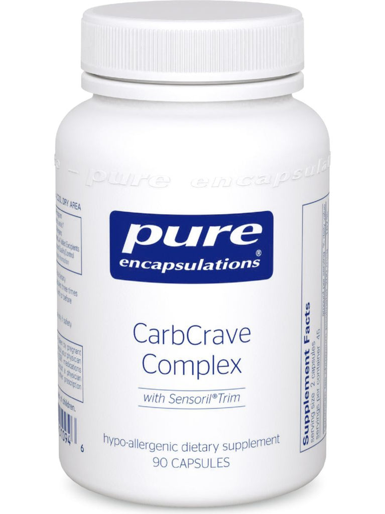 Pure Encapsulations, CarbCrave Complex, 90 vcaps