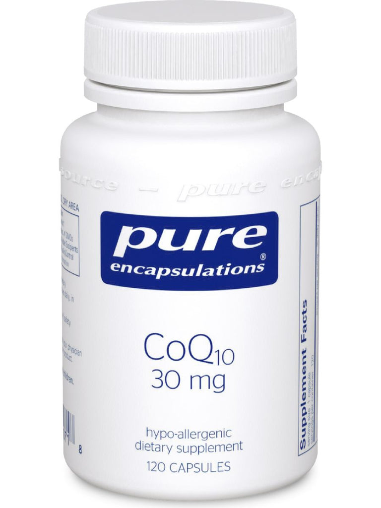 Pure Encapsulations, CoQ10, 30 mg, 120 vcaps