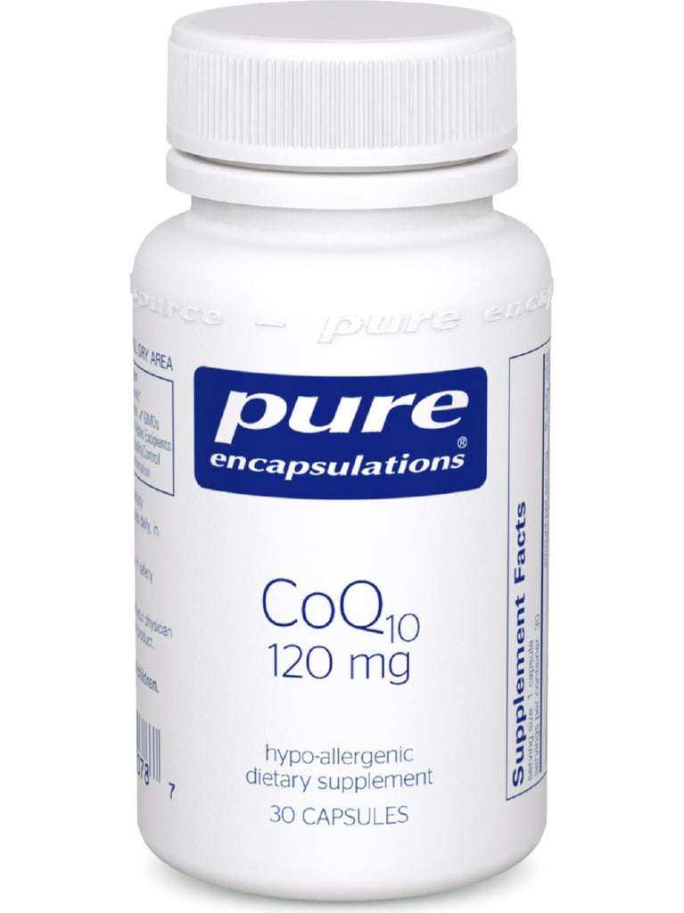 Pure Encapsulations, CoQ10, 120 mg, 30 vcaps