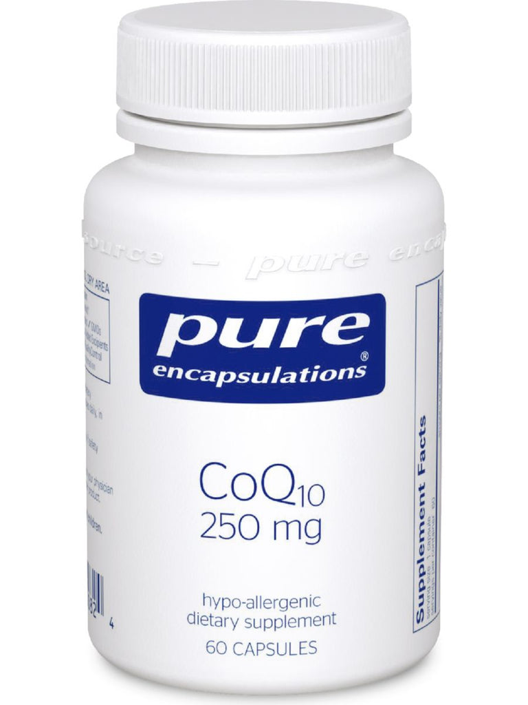 Pure Encapsulations, CoQ10, 250 mg, 60 vcaps