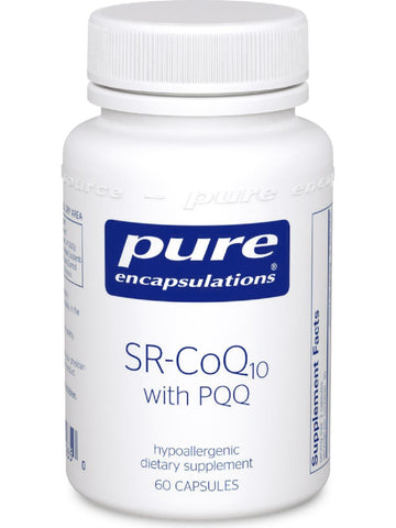 Pure Encapsulations, SR-CoQ10 with PQQ, 60 vcaps