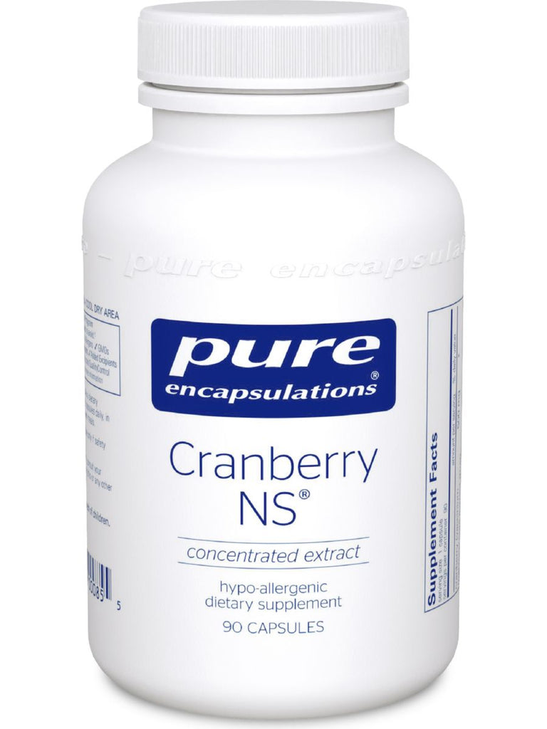 Pure Encapsulations, Cranberry NS, 500 mg, 90 vcaps