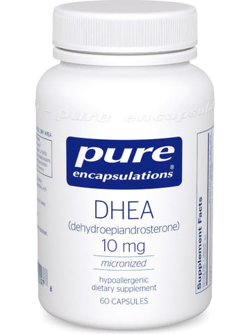 Pure Encapsulations, DHEA (micronized), 10 mg, 60 vcaps