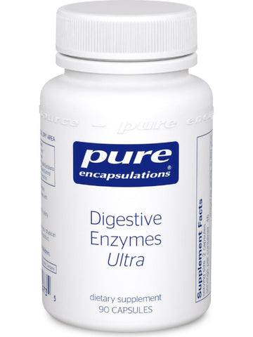 Pure Encapsulations, Digestive Enzymes Ultra, 90 caps