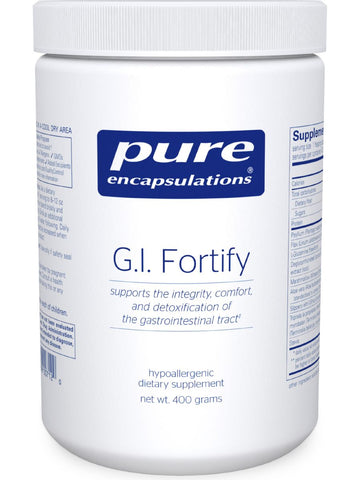 Pure Encapsulations, GI Fortify, 400 gms