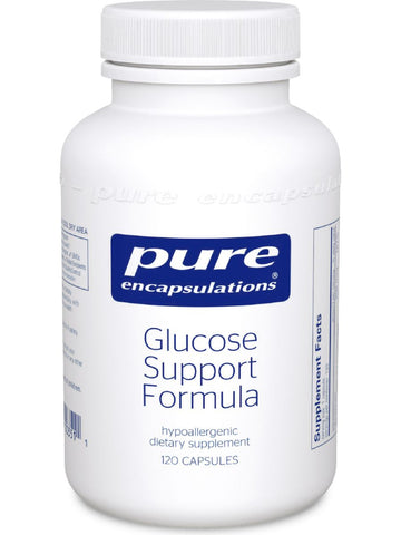 Pure Encapsulations, Glucose Support Formula, 120 vcaps