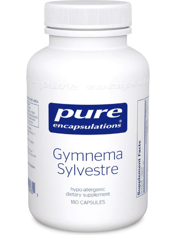 Pure Encapsulations, Gymnema Sylvestre, 180 vcaps