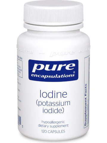 Pure Encapsulations, Iodine (potassium iodide), 120 caps