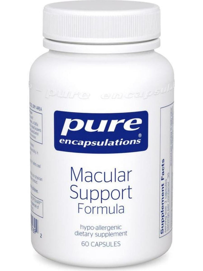 Pure Encapsulations, Macular Support Formula, 60 caps