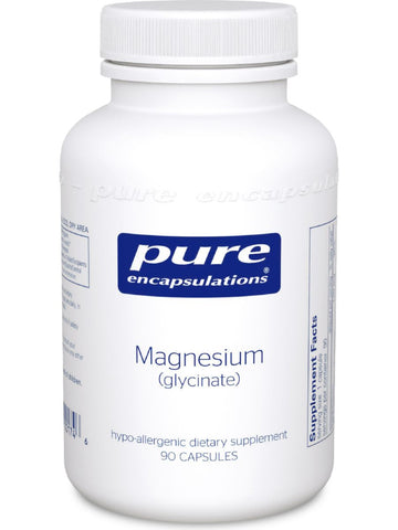 Pure Encapsulations, Magnesium (glycinate), 120 mg, 90 vcaps