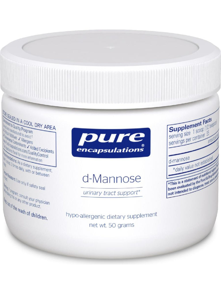 Pure Encapsulations, d-Mannose Powder, 50 gms