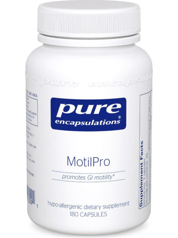Pure Encapsulations, MotilPro, 180 vcaps