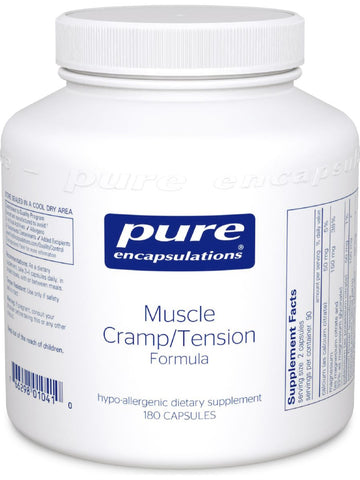 Pure Encapsulations, Muscle Cramp/Tension Formula, 180 vcaps