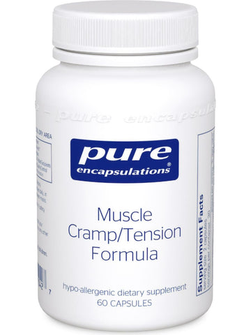 Pure Encapsulations, Muscle Cramp/Tension Formula, 60 vcaps