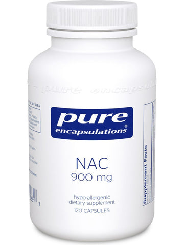 Pure Encapsulations, NAC, 900 mg, 120 vcaps
