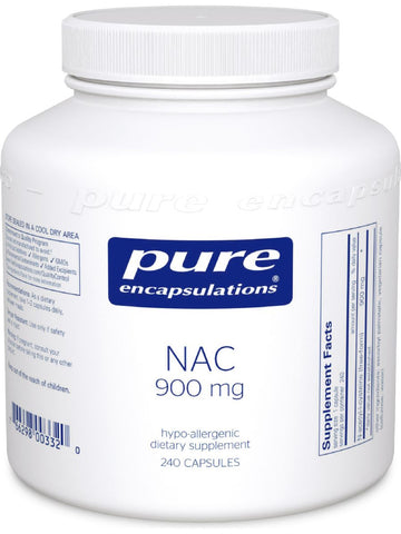 Pure Encapsulations, NAC, 900 mg, 240 vcaps