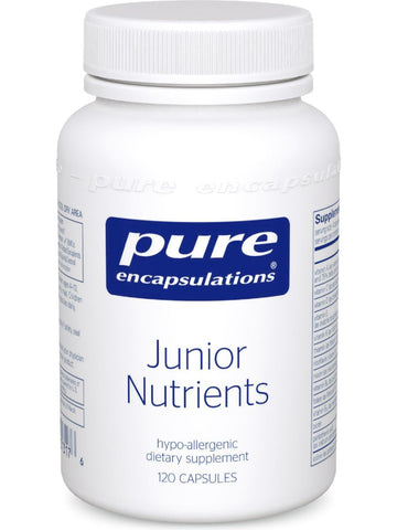 Pure Encapsulations, Junior Nutrients, 120 caps